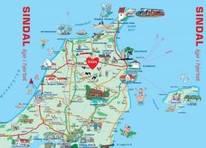 Sindal Camping - Kort over Nordjylland