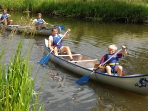 Sindal Camping - Aktiviteter på Uggerby Å - tider og distancer