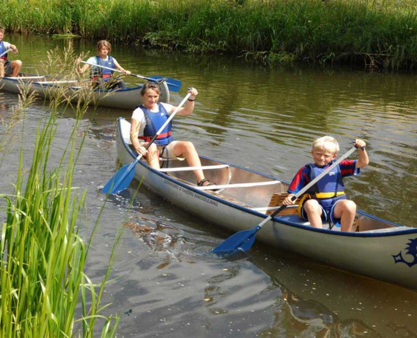 Canoe rental sindal camping danmark for Pa fishing license prices