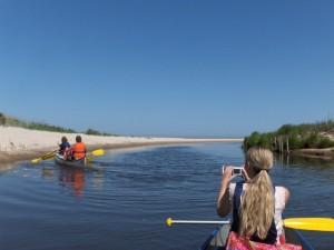 Sindal Camping - Kano på Uggerby Å