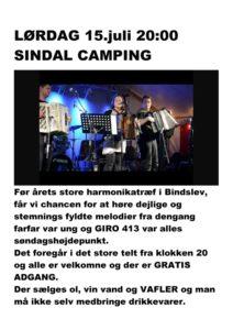 Sindal Camping - Harmonikatræf